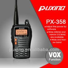 PX-358 VHFOr UHF CE approval anytone radio