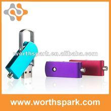 hot sell swivel metal usb flash drives