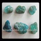 6 PCS Natural Blue Apatite Crystal Beads