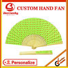 new style manual bamboo hand fans for celebration