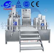 Vacuum emulsifying cosmetic machinery for cream