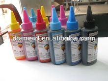 Dye tinta 100ml para impressora jato de tinta, para impressora epson, hp, canon e impressoras brother