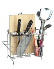 Knife Rack with with cutting board holder