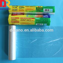 Clear Plastic Flat Bag On Rolls