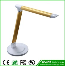 7W Hot Sale Portable Touch Dimming Modern Led Study Table Lamp with Adaptor 10v