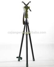"""Quick Hunting shooting stick gun rest short tripod 35""""--60"""""""