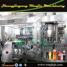 Automatic soft beverage filling plant, commercial soda water maker