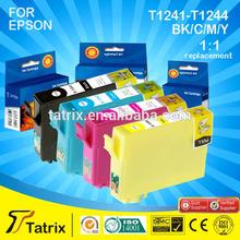 Hot Online Buy Wholesale for Epson compatible Ink Cartridges T1241-T1244