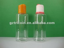 Plastic cosmetic bottle plastic bottle