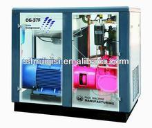 single screw type silent 22kw rotary screw air compressor 37kw 50hp shanghai