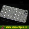 Luxury chrome 3D Ball diamond bling Case for iPhone 4 4S 4