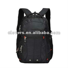 2013 popular computer backpack with seven zippers for teenagers