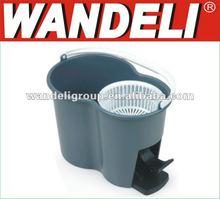 2012 most popular microfiber 360 rotating twister hand magic spin floor dust mop (101)