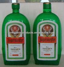 pvc inflatable beverage bottle for promotional