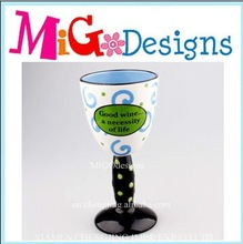 wholesale decor ceramic handmade goblet