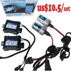 hot sale!!!! $10.5/set H1, H4, H7, H8, H11, 9005, 9006,9004, 9007, H13,slim ballast,car headlight,hid xenon kit
