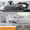 sale !!! modern leather bed/ double size leather bed/leather bed frame 8013