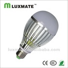 3000k-6000k high quality aluminum led lamp bulb cool white 220v e27 12w