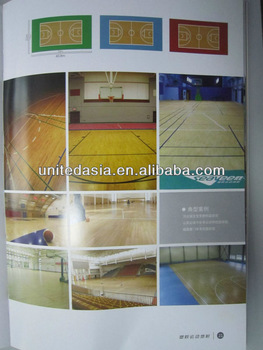 indoor basketball flooring 6.0mm*1.5m*15m/roll