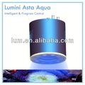 Aqua lumini imitar a la salida del sol, puesta del sol, ciclo lunar remoto automático y manual regulable led acuario luz de la noche