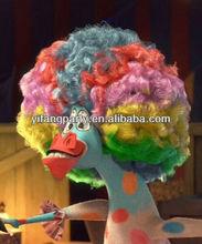 Colorful Clown Wigs