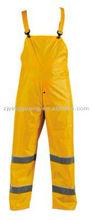 riflettente ad alta sicurezza bavaglino pantaloni