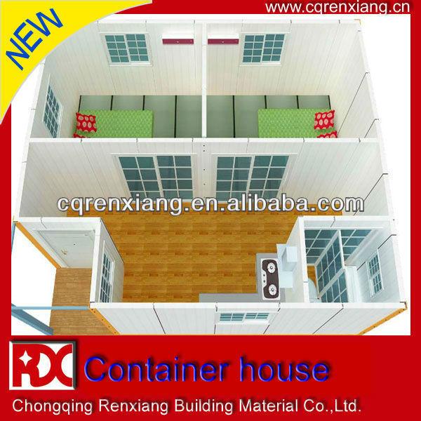 RX High Insulation Residential Modular Prefab Apartment Container Design