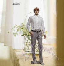 S04-M21 plastic adult male dolls ,male mannequin,plasitc mannequins