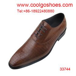 European design men leather formal shoes