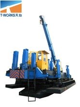 ZYC240T pile machine/hydraulic pile driver/rotary drilling rig