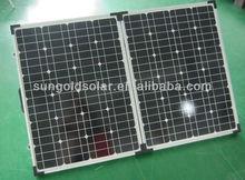 A grade Bosch 200w18V portable folding solar panel kit for camping, boating,trekker caravans 2x100w
