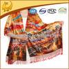 2-Layer Digital Print Silk Sacrves Wholesale Pashmina Shawl