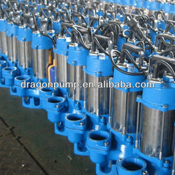 3phase,380v sewage centrifugal submersible pump