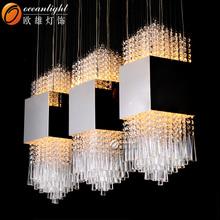 Modern crystal Pendant lighting,modern LED Pendant Light OM88544-L1000