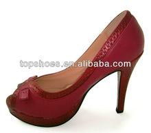 Platform Lady Pump Shoe High Heel