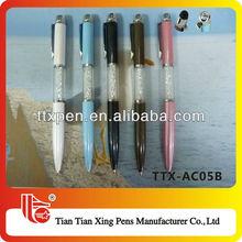 TTX-AC05B Five colors fancy cheap crystal ballpoint pen