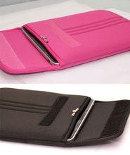 neoprene laptop/notebook sleeve carrying case with hidden handle