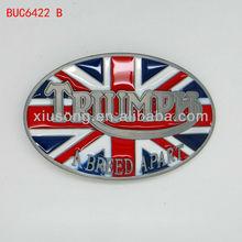 BUC6422 Triumph Motorcycles British Union Jack Belt Buckle Biker Classic