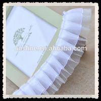 3.8 cm white swiss voile lace cotton lace