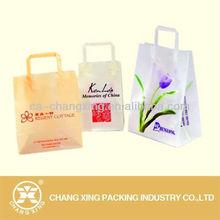 Cheap custom printed plastic retail shopping bag