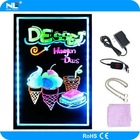 2014 new style waterproof high quality led writing board for shops/restaurants/stores/cafes advertising