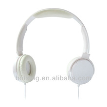 White bright colored headphones colorful headphone cheap earpieces