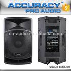 """15"""" Built-In Class D Amplifier Active Pro Powered Speaker CSA15AUD-BT"""