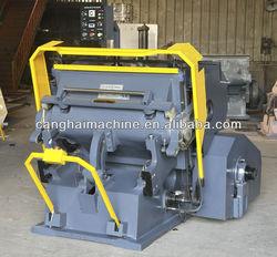 popular type creasing and die cutting machine CE
