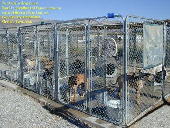 Galvanized steel wire mesh dog pens
