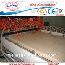 wood plastic composite wpc door production line of turn key project plastic extruder machine
