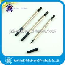2014 balck metal body parker liquid ink roller pen 0.5mm refills