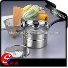 22cm Stainless Steel Encapsuled Bottom Noodle Pot / Pasta Pot/ Steamer pot