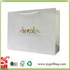 Brand custom paper bag for shopping/kraft paper shopping bag