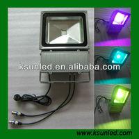 DMX RGB Outdoor LED Flood Light 20W/30W/50W/60W/90W/120W